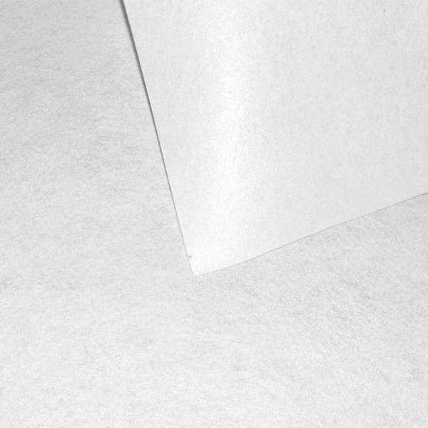 Войлок синтетический для рукоделия белый (0,95мм) ш.85