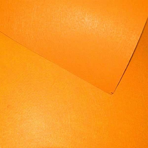 Войлок синтетический для рукоделия оранжевый (0,95мм) ш.85