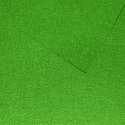 Фетр (для рукоділля) зелений лісовий (0,9мм) ш.85