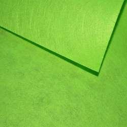 Повсть (для рукоділля) зелена трав'яна (0,9мм) ш.85