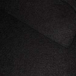 Фетр (для рукоділля) чорний (0,9мм) ш.85