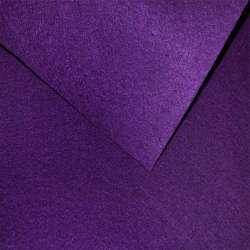 Войлок синтетический для рукоделия фиолетовый темный (0,95мм) ш.85