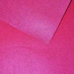 Войлок синтетический для рукоделия розовый неоновый (0,95мм) ш.85