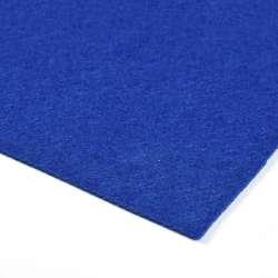 Войлок синтетический для рукоделия (0,9мм) ультрамарин ш.150