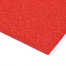 Фетр (для рукоделия) красный (0,9мм) ш.150
