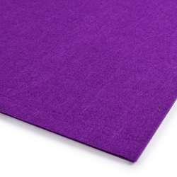 Войлок (для рукоделия) фиолетовый темный (2мм) ш.100