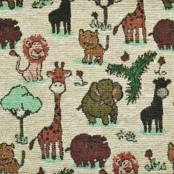 Гобелен песочный жирафы, слоники ш.150