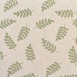 Деко-льон бежевий в оливкові гілки, ш.155