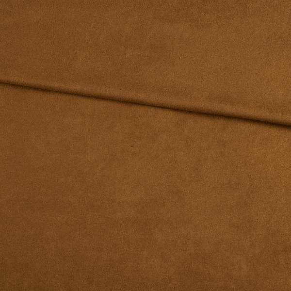 Замша стрейч коричневая, ш.145