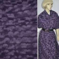 замша флок фиолетовая ш.150 см.