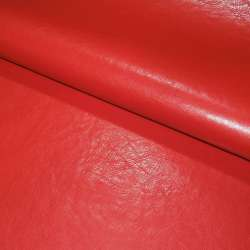 шкіра искуст. червона на флісі ш.140
