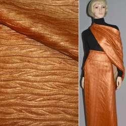 шкіра позов. помаранчева перламутр косичка тисне, ш.150