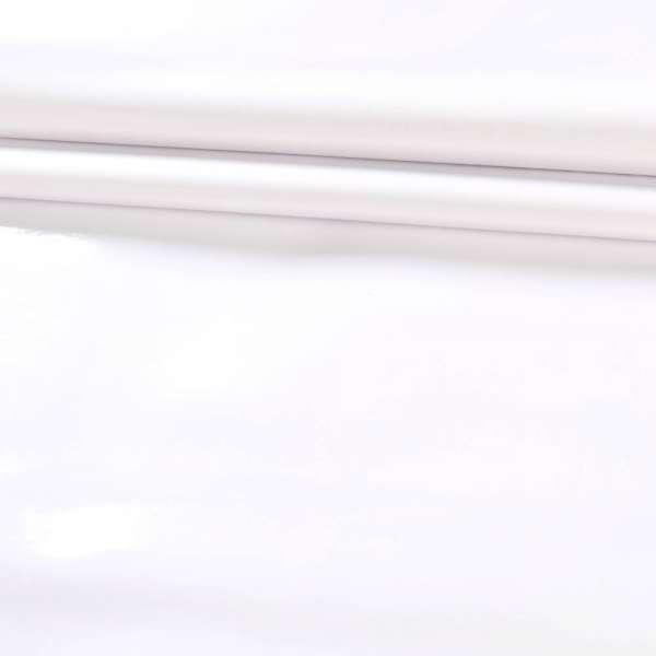 б/п кожа искусст. лак. белая на флисе ш.142