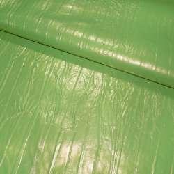 Кожа искусственная зеленая, ш.140