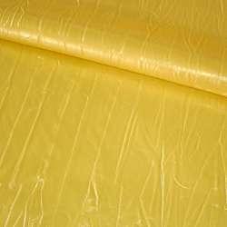 Кожа искусственная желтая, ш.140