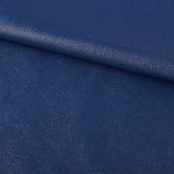 шкіра искуст. на флісі синя ш.130