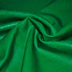 кожа искусств. зеленая на флисе ш.140