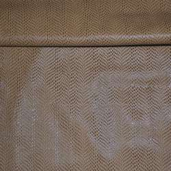кожа искусств. св. коричневая с каплями на флисе ш.140