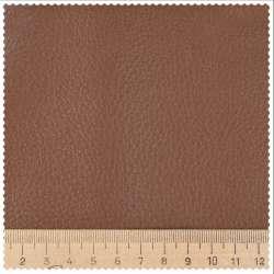 Шкіра штучна меблева оббивна коричнева 73-0000 ш.145