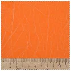 Кожа искусственная обивочная однотонная оранжевая 79750000 ш.143
