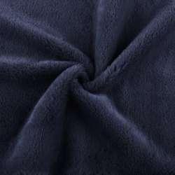 Хутро штучне кролик ворс 1см синє ш.160