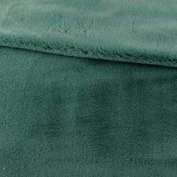 Хутро штучне кролик ворс 1см зелений ш.170