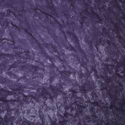хутро позов. фіолетовий жатий однотонний, ш.150
