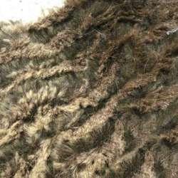 Хутро штучне коричнево-шоколадний жате, ш.150