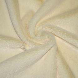 Хутро штучне коротковорсове блідо-жовте, ш.150