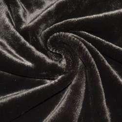 Хутро штучне темно-коричневе