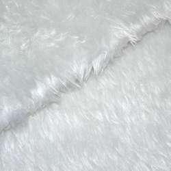 Хутро штучне середньоворсове біле з сірим відтінком, ш.150