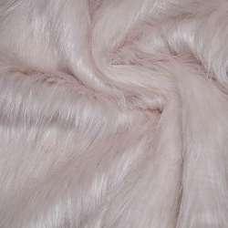 хутро блідо-рожевий дл. / ворсний ш.170