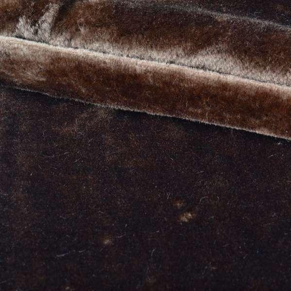 хутро искуст. середньо-ворсний коричневий (мутон) ш.172