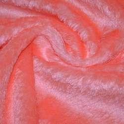 Хутро штучне помаранчеве з білим відливом, ш.150