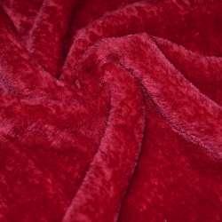 Хутро штучне червоне коротковорсове ш.160