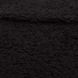 Мех искусственный черный, ш.155