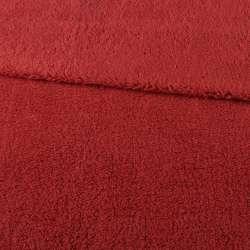 Хутро штучне овчина тонке червоне ш.175