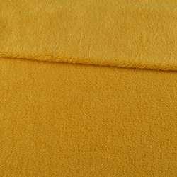 Хутро штучне овчина тонке жовте ш.170