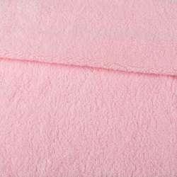 Хутро штучне овчина тонке рожеве ш.175