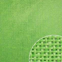 Рогожка из целлюлозы на флизелине салатовая, ш.150