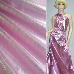 парча розово-серебрист. гладкая ш.150
