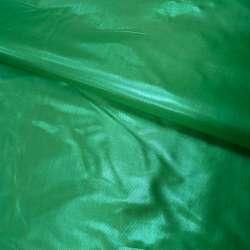 парча зеленая гладкая ш.150