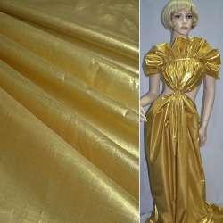 парча св. золото гладкая ш.150 см.