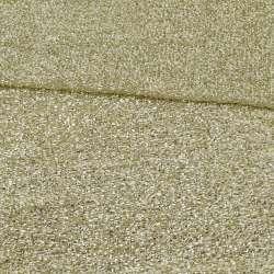 Мерехтливий трикотаж з м'якої мішури світле золото, ш.155