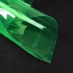Силикон (0,3мм) зеленый прозрачный ш.122