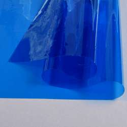 Силикон (0,2мм) синий прозрачный ш.122