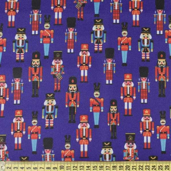 ПВХ тканина Оксфорд 600 D синя в іграшкові солдатики, ш.150