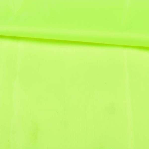 Тент нейлон 210D желтый неоновый, ш.150
