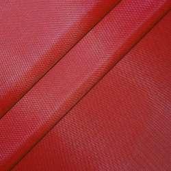 Тканина тентова ПВХ 420 D червона ш.150