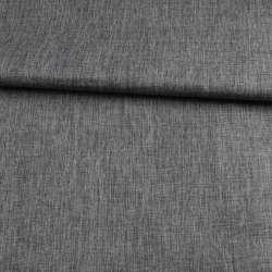 ПВХ ткань оксфорд лен 300D серый темный, ш.150
